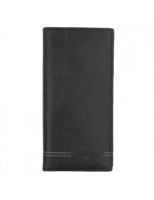 BULL RYDERS Genuine Cow Leather Long Wallet BWGU-80546