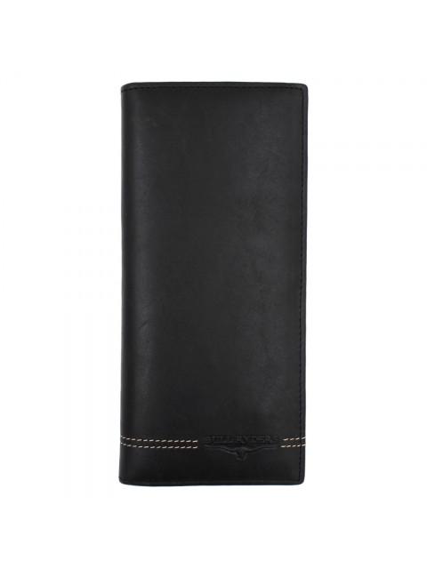 BULL RYDERS Genuine Cow Leather Long Wallet BWGU-80547