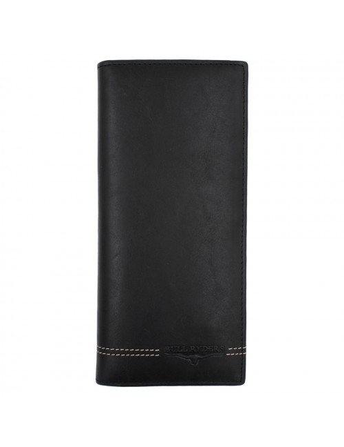 BULL RYDERS Genuine Cow Leather Long Wallet BWGU-80547