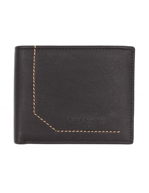 BULL RYDERS Genuine Cow Leather Wallet BWGK-80478