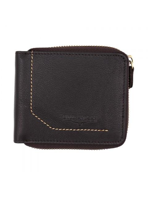 BULL RYDERS Genuine Cow Leather Zipper Wallet BWGK-80479