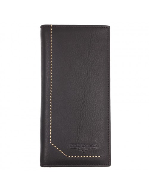 BULL RYDERS Genuine Cow Leather Long Wallet BWGK-80480