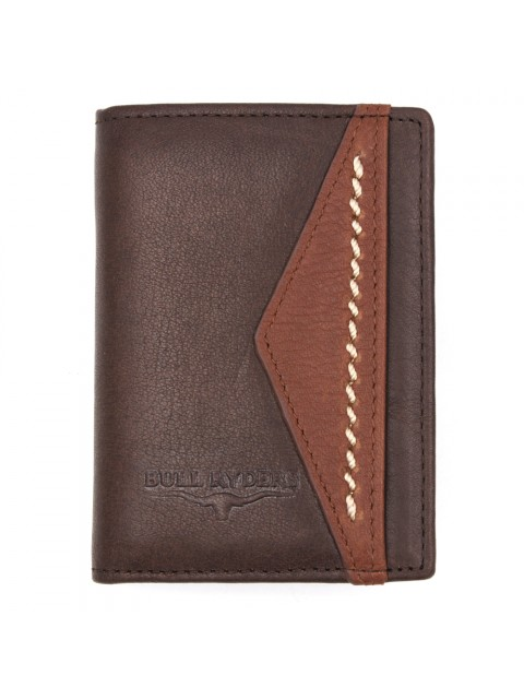 BULL RYDERS Genuine Cow Leather Small Wallet BWGQ-80506