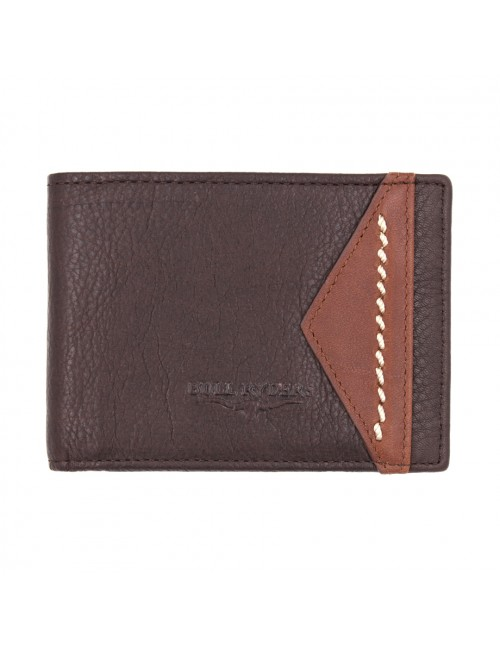 BULL RYDERS Genuine Cow Leather Wallet BWGQ-80507
