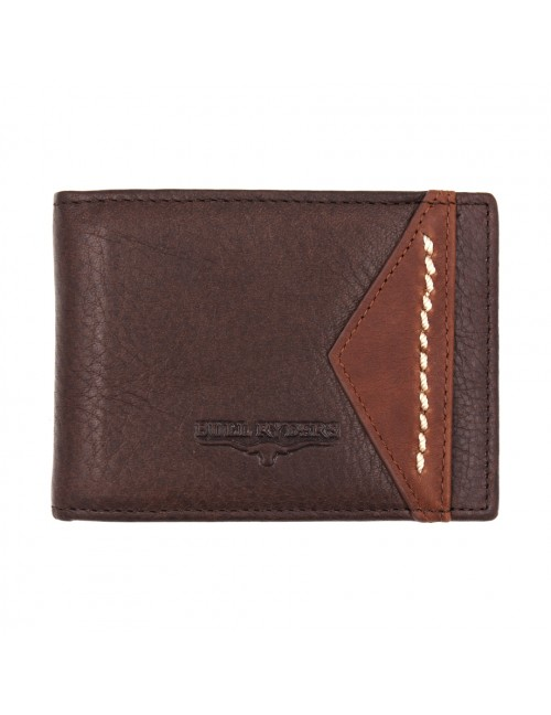BULL RYDERS Genuine Cow Leather Wallet BWGQ-80510
