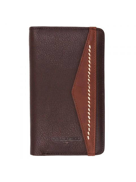 BULL RYDERS Genuine Cow Leather Long Wallet BWGQ-80511