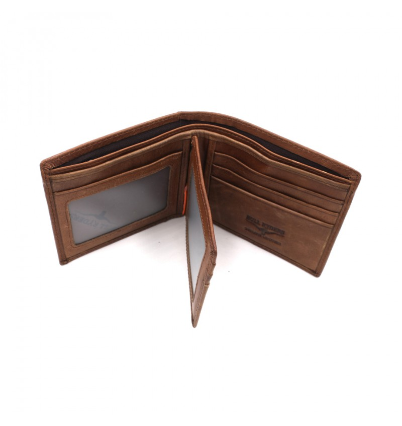 BULL RYDERS Genuine Cow Leather Wallet BWGS-80521