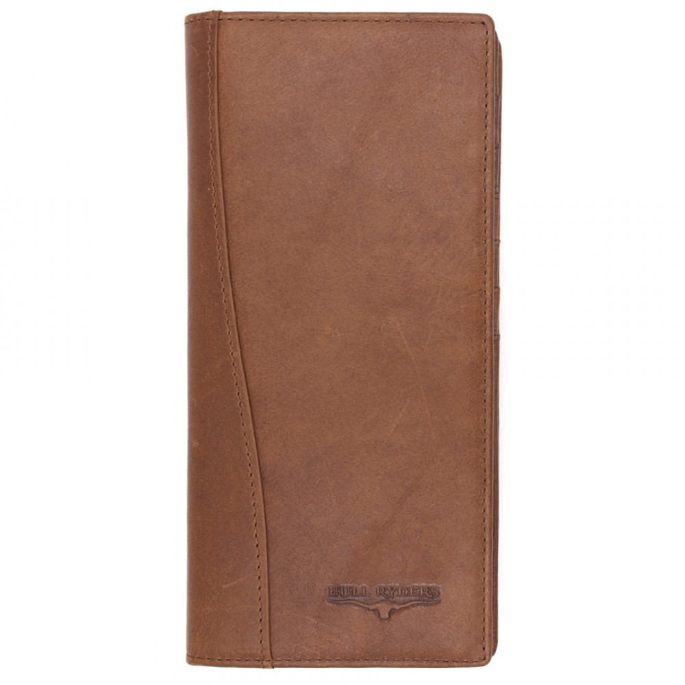 BULL RYDERS Genuine Cow Leather Long Wallet BWGS-80526
