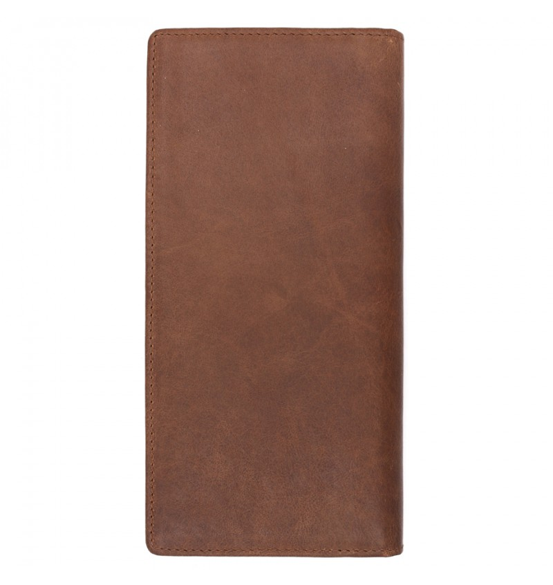 BULL RYDERS Genuine Cow Leather Long Wallet BWGS-80527
