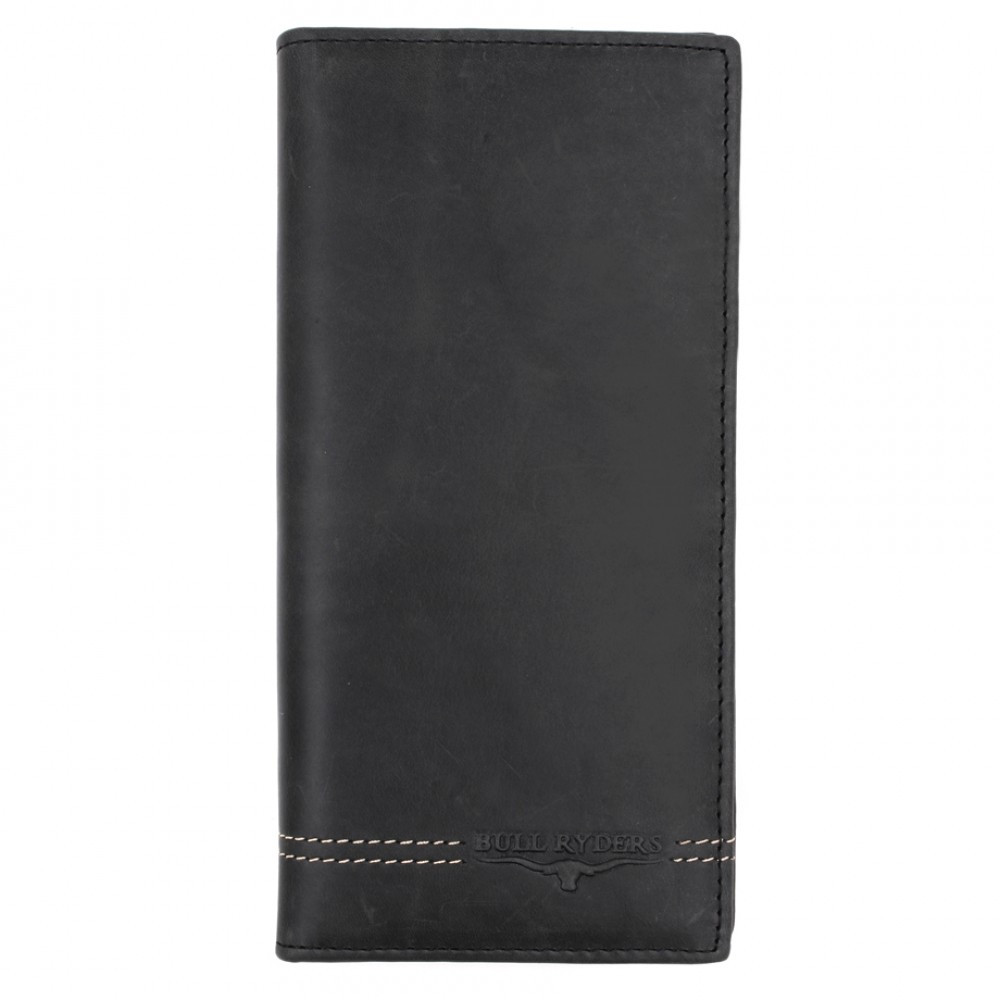 BULL RYDERS Genuine Cow Leather Long Wallet BWGU-80546-20