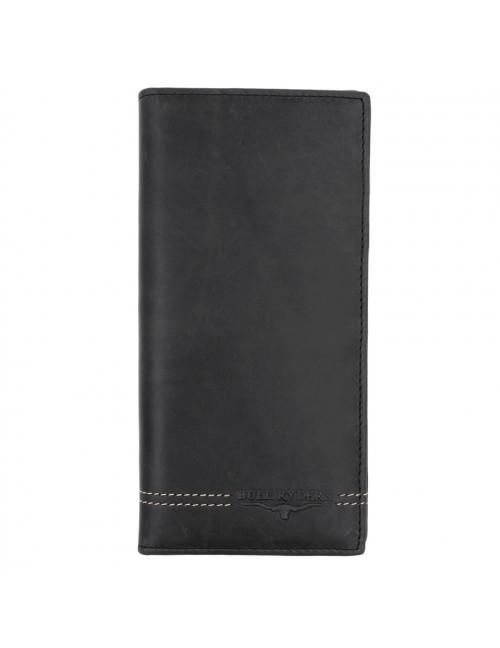 BULL RYDERS Genuine Cow Leather Long Wallet BWGU-80546-20