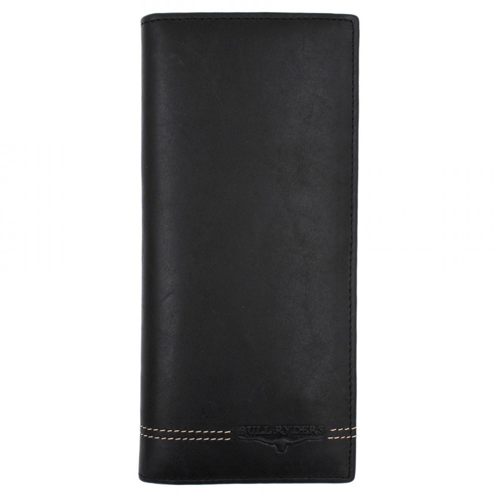 BULL RYDERS Genuine Cow Leather Long Wallet BWGU-80547-20