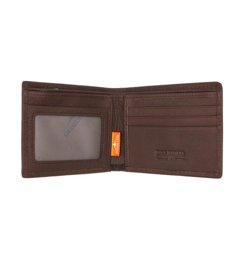 BULL RYDERS Genuine Cow Leather Wallet BWFH-80318-20