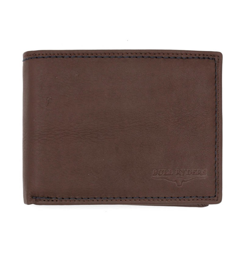 BULL RYDERS Genuine Cow Leather Wallet BWFH-80320-20