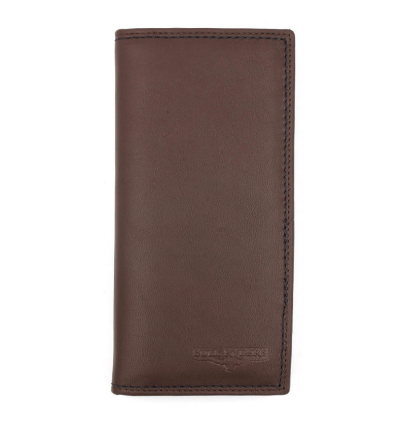 BULL RYDERS Genuine Cow Leather Long Wallet BWFH-80321-20