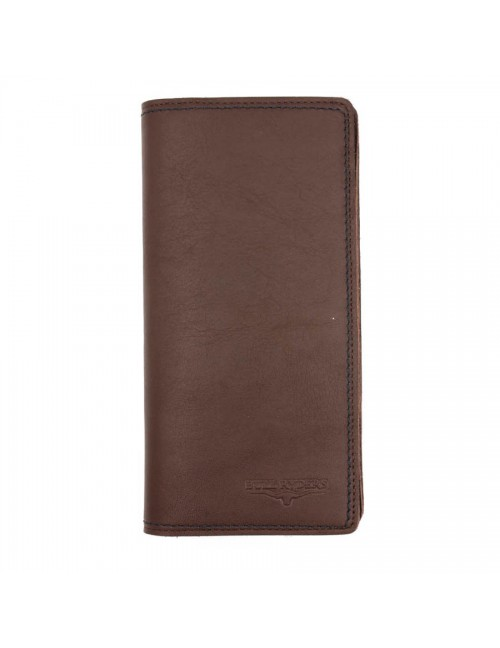 BULL RYDERS Genuine Cow Leather Long Wallet BWFH-80322-20