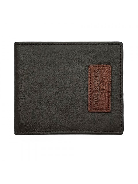 BULL RYDERS Genuine Cow Leather Clipper Card Wallet BWHY-80709