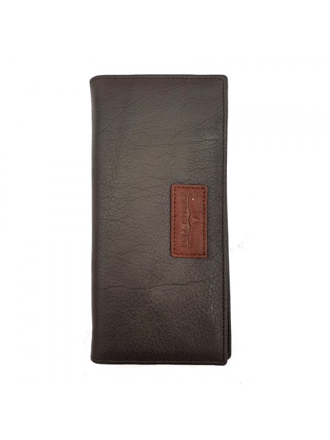 BULL RYDERS Genuine Cow Leather Long Wallet BWHY-80716