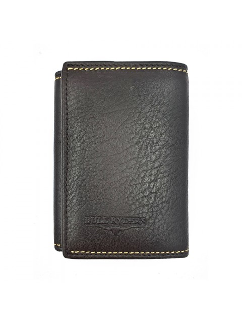 BULL RYDERS RFID Protection Genuine Cow Leather Wallet BWGX-80558
