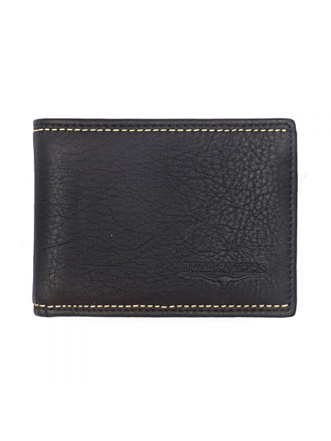 BULL RYDERS RFID Protection Genuine Cow Leather Wallet BWGX-80560