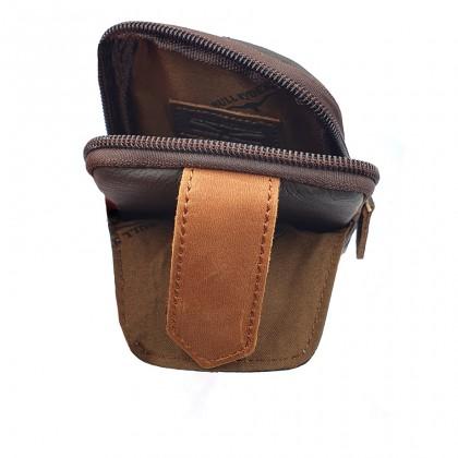 Leather Belt Bag - Dark Brown BR-88169
