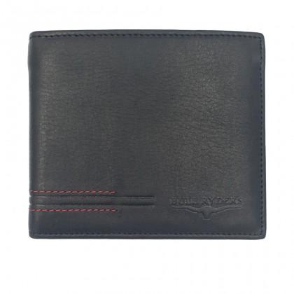 Bifold Genuine Leather Mens Wallet - Black BWHS-80676